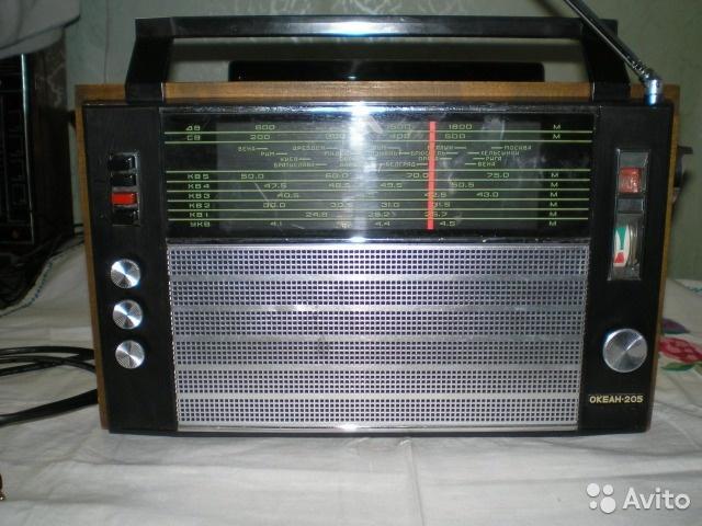 """Радиоприемник """"Океан-205""""укв+FM"""