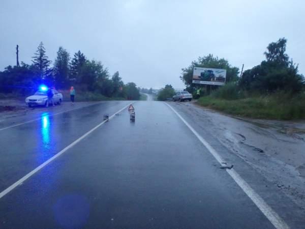 На трассе в Кирово-Чепецком районе «Газель» сбила женщину
